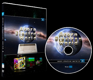 Acorn Electron DVD Cover & Disc